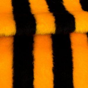 Fausse fourrure au mètre Fausse fourrure abeille pour déguisement – Bee Stripe R2/60/2 920/1  1201/1