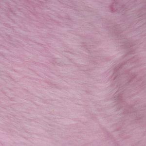 Fausse fourrure au mètre Fausse fourrure pas cher rose bonbon à poil court – W1/60-Blossom-117