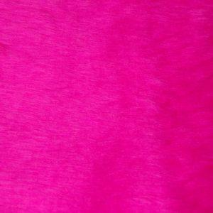 Fausse fourrure au mètre Fausse fourrure pas cher rose cerise à poil court – W1/60-Cerise