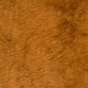 Fausse fourrure au mètre Fausse fourrure pas cher brun châtaigne à poil court – W1/60-Chestnut-111