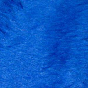 Fausse fourrure au mètre Fausse fourrure pas cher bleu cobalt à poil court – W1/60-Cobalt
