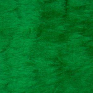 Fausse fourrure au mètre Fausse fourrure pas cher vert émeraude à poil court – W1/60-Emerald