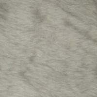 Fausse fourrure au mètre Fausse fourrure pas cher blanc ivoire à poil court – W1/60-Ivory