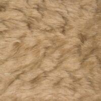 Fausse fourrure au mètre Fausse fourrure pas cher camel à poil court – W1/60-Camel-457