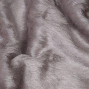 Fausse fourrure au mètre Fausse fourrure pas cher gris clair à poil court – W1/60-K-Grey