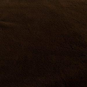 Fausse fourrure au mètre Fausse fourrure brun foncé super douce pour doublure – 2R338 Brown