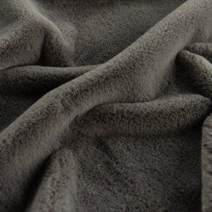 Prix en baisse Fausse fourrure gris foncé super douce pour doublure – 2R338 Grey