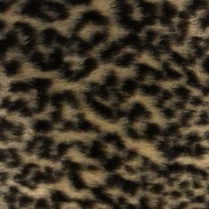 Fausse fourrure au mètre Fausse fourrure léopard pour déguisement – R2/60 1386/1