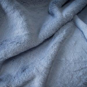 Fausse fourrure au mètre Tissu fausse fourrure super doux imitation lapin, bleu poudré – 3091 Powder Blue