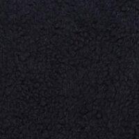 Fausse fourrure au mètre Fausse fourrure façon mouton de couleur noire – YF 158/1/15 Black