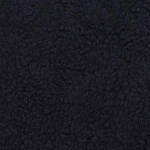 Fausse fourrure au mètre Fausse fourrure façon mouton de couleur noire – YF 158/1 1062