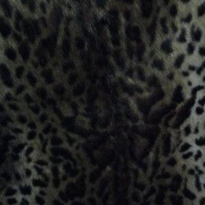Fausse fourrure au mètre Tissu fausse fourrure super doux imitation jaguar – 2013 Brown Jaguar