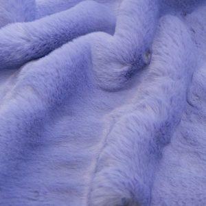Fausse fourrure au mètre Tissu fausse fourrure super doux imitation lapin, bleu lavande – 3091 Lavender
