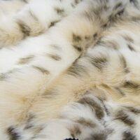 Fausse fourrure au mètre Tissu fausse fourrure au mètre de luxe imitation lynx – 1606 Gold Lynx