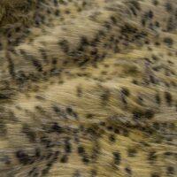 Fausse fourrure au mètre Tissu fausse fourrure au mètre imitation guépard – 1617 Gold/Brown