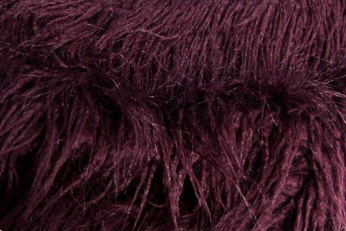 Fausse fourrure au mètre Tissu fausse fourrureau mètrecouleur violet prune – 1424 Plum