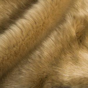 Fausse fourrure de luxe Tissu fausse fourrure super doux vison beige – 1535 Beige