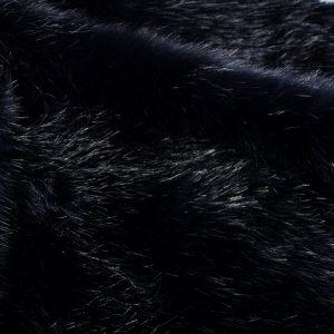 Fausse fourrure de luxe Tissu fausse fourrure super doux vison bleu marine – 1535 Navy