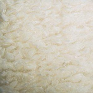 Fausse fourrure de luxe Tissu fausse fourrurecrème façon mouton au mètresuper doux – 2R293 Cream