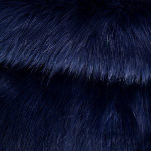 Fausse fourrure de luxe Fausse fourrure imitation renard violette – 7552 Purple