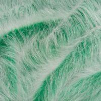 Fausse fourrure au mètre Fausse fourrure vert émeraude givré à poil long – AC356-Emerald Frost