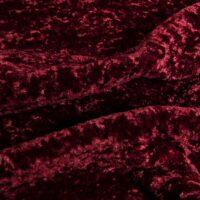 Fausse fourrure au mètre Tissu fausse fourrure raisin à poil court et bouclé au mètre super doux – 2R355 Grape Red