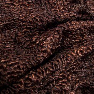 Fausse fourrure au mètre Tissu fausse fourrure au mètre imitation astrakan bordeaux – 3118 Dk.Wine