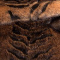 Fausse fourrure au mètre Tissu fausse fourrureau mètretexturé beige/brun – 1427 Beige/Brown