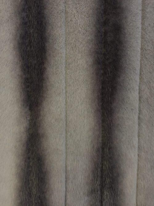 Fausse fourrure au mètre Tissu fausse fourrure super doux chinchilla gris – 3097 Silver/Stone