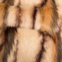 Fausse fourrure au mètre Tissu fausse fourrure façon antilope, couleur beige – 7585 Beige