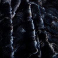Fausse fourrure au mètre Tissu fausse fourrure alligator bleu – 3056 Alligator Blue
