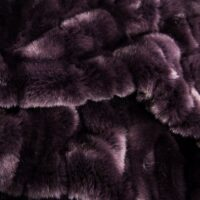 Fausse fourrure au mètre Tissu fausse fourrure alligator violet – 3056 Purple