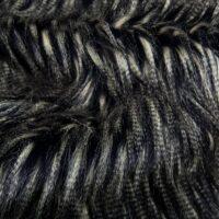 Fausse fourrure au mètre Tissu fausse fourrure méchée bleu foncé – 8509 Blue