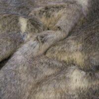 Fausse fourrure au mètre Tissu fausse fourrure au mètre imitation lapin gris – 1622 Grey