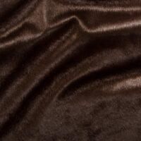Fausse fourrure au mètre Tissu fausse fourrure au mètre à poil ras marron – 6029 Brown