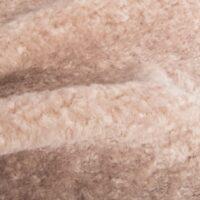 Fausse fourrure au mètre Tissu fausse fourrure au mètre teddy couleur beige foncé – 8510 Dark Beige