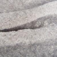 Fausse fourrure au mètre Tissu fausse fourrure au mètre teddy couleur gris – 8510 Grey