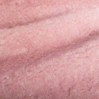 Fausse fourrure au mètre Tissu fausse fourrure au mètre teddy couleur vieux rose – 8510 Old Pink