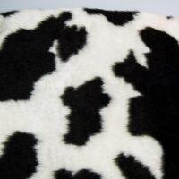 Fausse fourrure au mètre Tissu fausse fourrure au mètre imitation vache – R2/60 100/1