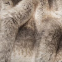 Fausse fourrure au mètre Tissu fausse fourrure au mètre imitation chinchilla brun – 6002 Brown
