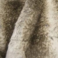 Fausse fourrure au mètre Tissu fausse fourrure au mètre imitation chinchilla opale/gris – 6002 Opal/Grey