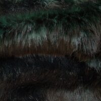 Fausse fourrure au mètre Tissu fausse fourrure au mètre imitation renard vert  – 6012 Dark Green