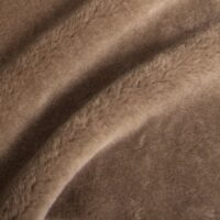 Fausse fourrure au mètre Tissu fausse fourrure teddy au mètre imitation mouton brun – 1588 Stone