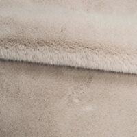 Fausse fourrure au mètre Tissu fausse fourrure au mètre imitation lapin gris – 2R339 Grey