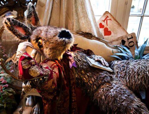 Nos tissus en fausse fourrure utilisés par Tentacle Studio : fabricants de masques et de costumes sur mesure