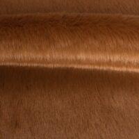 Fausse fourrure au mètre Tissu fausse fourrure marron super rapport qualité prix – YF 286/1 Chimpunk