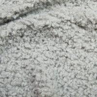 Fausse fourrure au mètre Tissu fausse fourrure de luxe teddy gris clair, 100% recyclé – 2R402 Lt.Grey