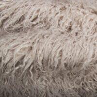 Fausse fourrure au mètre Fausse fourrure gris platine agneau de Mongolie super douce – 1591 Mongolian platinum