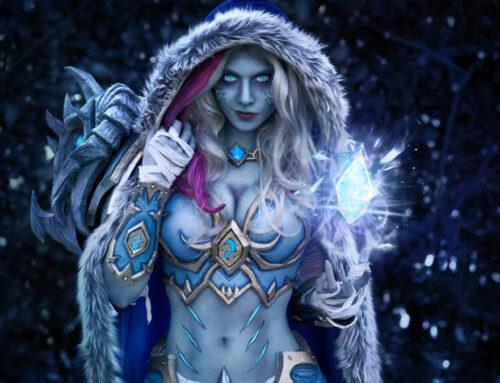 Jaina (World of Warcraft) et Valkyrie (Fortnite) par Cinderys