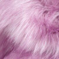 Fausse fourrure au mètre Fausse fourrure imitation renard rose – 7552 Pale Lilac